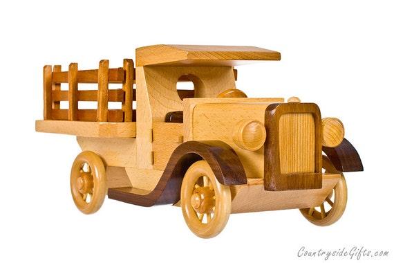 Wooden Model-T Car Truck