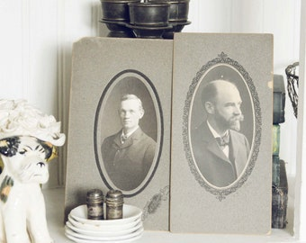 Family Tree- Set of 6 Vintage Photo/ Cabinet Cards
