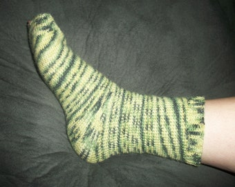 Crochet Socks Pattern PDF Instant Download Beginner Easy Toe Up Sock Yarn Worked in the Round Cozy Comfortable Heel Tube Socks Gift