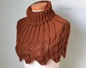IRENE, Knitting capelet pattern pdf