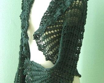 HILDEGARD, Crochet shrug pattern pdf