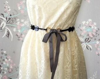 Fashion Accessories - Full grain leather belt  - Black Leather Belt - Women Belt -  Leather Belt  - gift for her- BOGO SALE