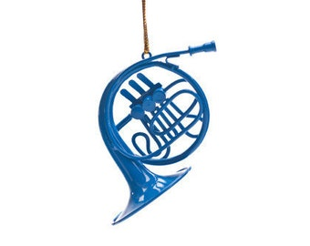 Blue French Horn Ornament, inspired by How I Met Your Mother
