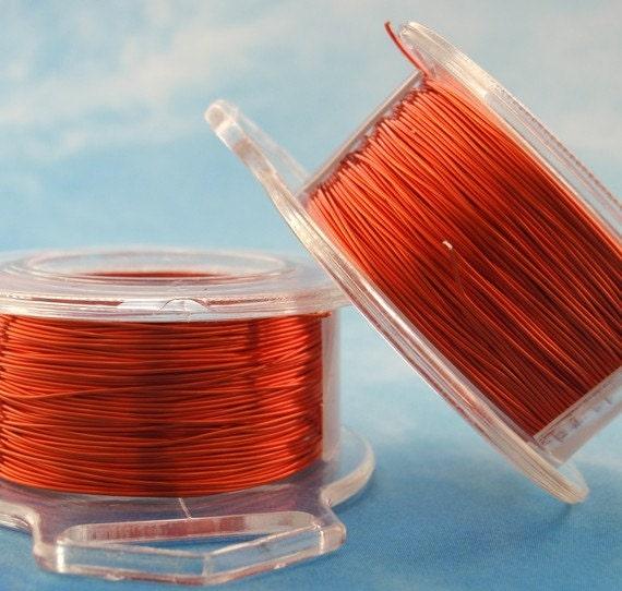 Orange Wire Enameled Coated Copper 100  Guarantee You