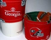 College Football Fan Coffee Sleeve - Georgia Bulldogs