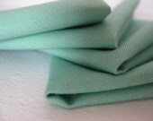 Cloth Napkins - Jade - 100% Cotton