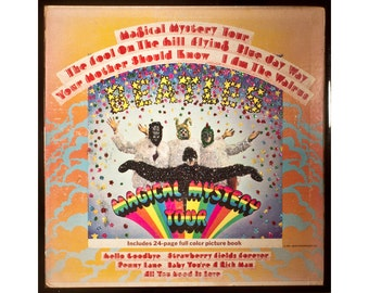 Glittered Beatles Magical Mystery Tour