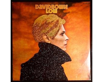 Glittered David Bowie Low Album