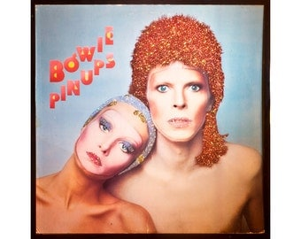 Glittered David Bowie Pin Ups Album