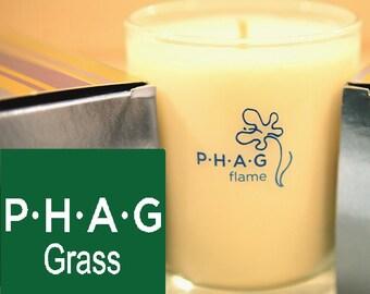 PHAG flame Premium Soy Candle- PHAG Grass