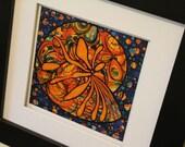 5x5 Seashell high quality print of original art