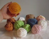 Lot of T-Shirt Yarn Several Different Colors
