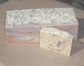 SOAP LOAF 3 lb. / Bulk Soap / Wholesale Soap / 10 to 12 bars / Favors / Cold Process Soap