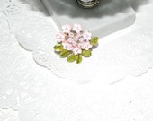 Vintage Flower Pin by Rafaelian