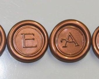 Faux Wax Seal Custom Made Inspirational Magnets-CREATE