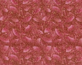 Reserved For Liese  3 yards Oriental Fabric:  Rose Fans with Gold Asian Allure