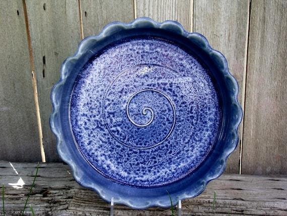 Handmade Ceramic Pie Plate