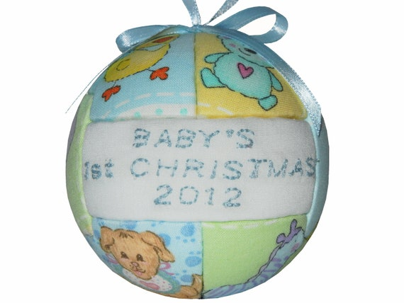 Baby's 1st Christmas Ornament New Mom Baby Shower Child