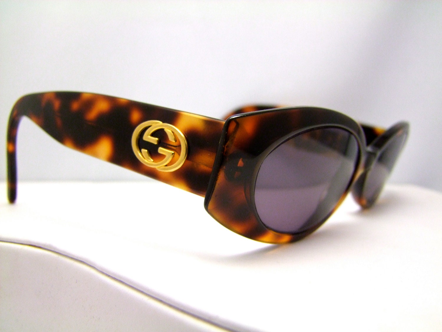 Vintage Gucci Glasses Frame : Vintage Gucci Eyeglasses Made in Italy Style 2954 by ...