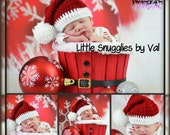 LSBV Santa Hat Infant-Childrens Sizes Made to Order