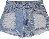 Callisto short studded cut off shorts