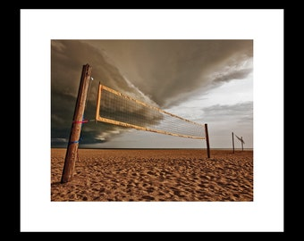 Storm at the Beach 8 X 10  Fine Art Print
