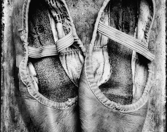 Old Ballet Shoes 16X24 Fine Art Print