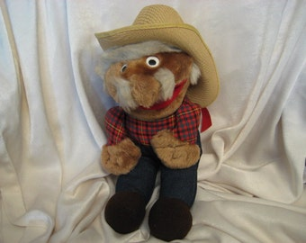 Vintage Stuffed Animal, Shotgun Red, Hee Haw,