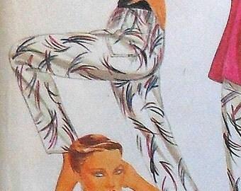 Vintage 80s Camisole & Pants Sewing Pattern UNCUT McCalls 7105 Roland Klein