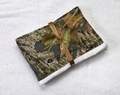 Burp Cloth Mossy Oak For Baby Burping Rag Pad, Baby Gift Idea, Boy or Girl Regular Size Cloth Diaper, Burpcloths