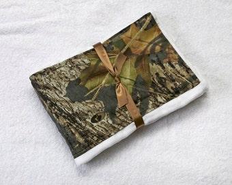 Burp Cloth Mossy Oak For Baby Burping Rag Pad, Baby Gift Idea, Boy or Girl Regular Size Cloth Diaper, Burpcloths, Made From Mossy Oak Fabric