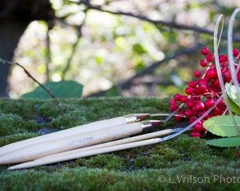 """Yarn Lot - Takumi 6 29"""" Circular Knitting Needles - Rainbow Sherbet -"""