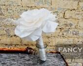"""Single Flower Bouquet Tutorial- """"Bliss"""" Millinery Flower Pattern"""