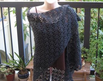 28% off charcoal grey shawl