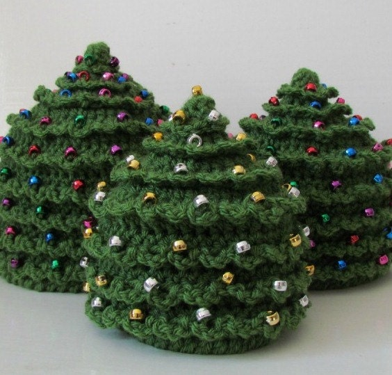 Christmas Tree Hats: Christmas CROCHET PATTERN HAT Christmas Tree In 5 Sizes 0 To 5