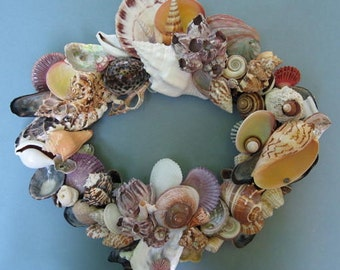 Colorful Shell Wreath (SW33)