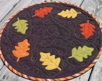 Fall Frolic - Kit and Pattern for Quilted Table Topper