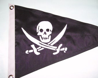 Jolly Roger Custom Burgee