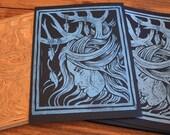 Midnight Huntress - Block Print