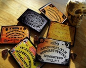 Six (6) Pack Ouija Board Size II Mini Pocket Boards Party Favors Small Boards
