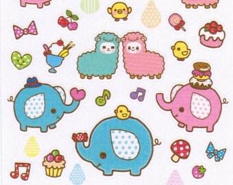Kawaii My Little Friends Sticker Sheet - B