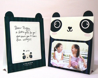 Panda Photoframe Printable PDF