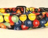 Yumm M&M Colorful Candy Dog Collar