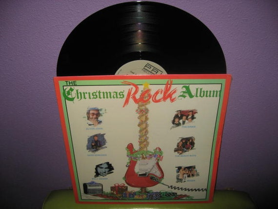 Rare Vinyl Record The Christmas Rock Album Lp 1986 Queen Kinks