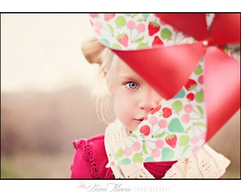 Flower Girl Pinwheel Bouquet by Rule42