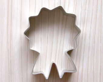 Prize Ribbon Cookie Cutter / Medallion Cookie Cutter