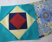 Pre-Cut Quilt Block of the Month in Your Choice of 100% Cotton Fabrics - BOM - 4