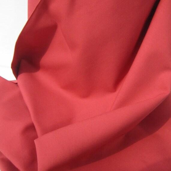 Tomato Soup Bella Solid Cotton Fabric from Moda - 1 YD