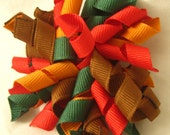 Thanksgiving Korker Hairbow - Creatively Mom