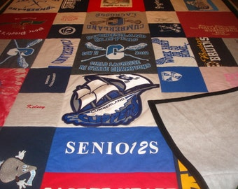 GRADUATION BLANKET Custom T-Shirt Blanket